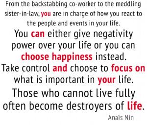 Backstabbing Quotes Anas nin quote