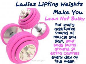 ... weight training will not try strength training female weight training