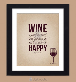 Funny Drinking Wine Quotes Wine poster constant proof