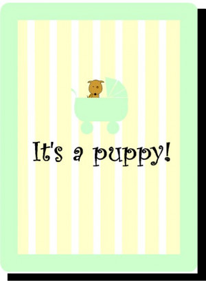Puppy Shower Invitations | New Puppy Announcements