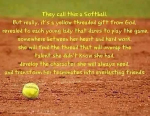 Softball Quotes For...
