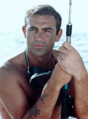 James Bond Sean Connery Art