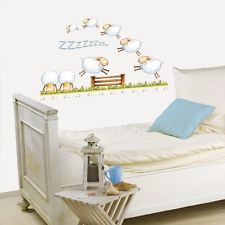 NEW Platin Art Wall Decals Deco Sticker Counting Sheep