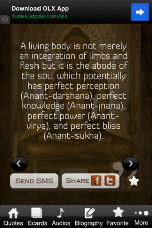 Download Mahavir Swami Thoughts Pro iPhone iPad iOS