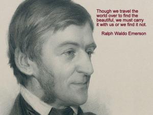 Ralph Waldo Emerson Transcendentalism