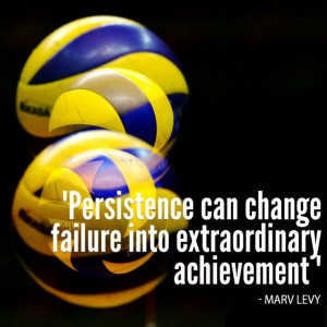 Volleyball Motivational Quote Fivb