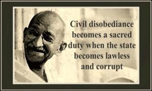 Happy Civil Disobedience Day aka MLK Day