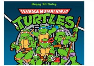 teenage mutant ninja turtles birthday card