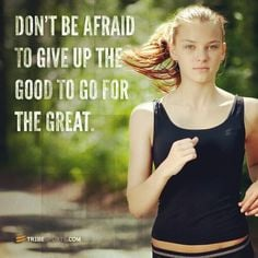 up the good to go for the great. Tribesports.com #runningram #running ...