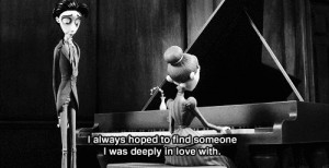 to find someone I was deeply in love with.
