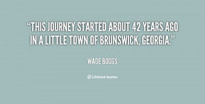 This journey started about 42 years ago in a little town of Brunswick ...