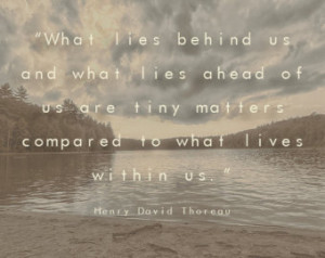 , Inspirational quotes, Nature, Henry David Thoreau, Walden Pond ...