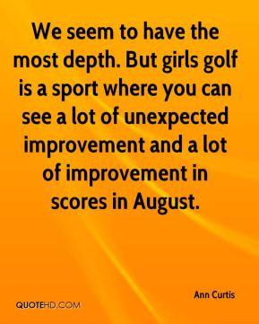 Golf Team Quotes