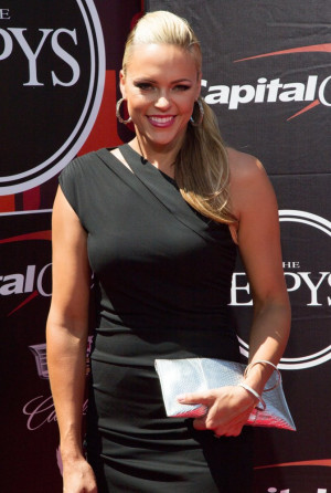 Jennie Finch Picture 9 The 2015 ESPYs Red Carpet Arrivals