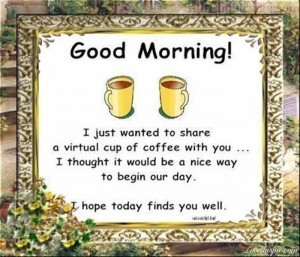 good morning quotes cute coffee comments friendship quotes reminds me ...