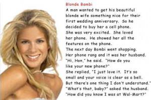 advanced search funny blonde jokes