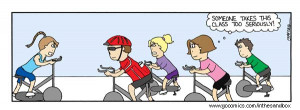 just got back from the spin class from you know where!!