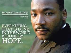 Martin Luther King Jr Hope Quotes