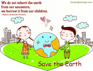 Cute Earth Day Quotes Earth day quotes, scraps