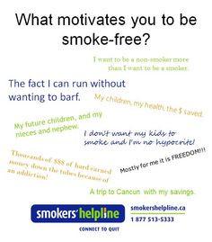 Smoke-free motivation