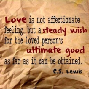 Marriage/Love quote by C. S. Lewis