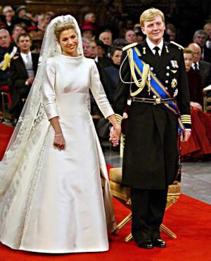 Prince Willem-Alexander and Princess MaximaKoninklijk. Huwelijken ...