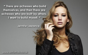Inspirational quotes from some of today's most exciting actors