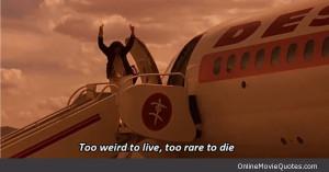 Movie scene from the popular movie starring Johnny Depp and Benicio ...