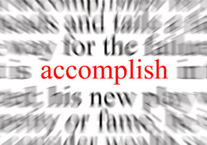 ... your resume . Now we'll address creating your accomplishment list