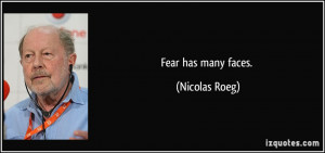 More Nicolas Roeg Quotes