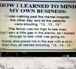 Mind your own business // funny pictures - funny photos - funny images ...