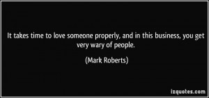 More Mark Roberts Quotes