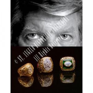 NFL - Jimmy Johnson Dallas Cowboys - Super Bowl Rings - 20x30 Portrait