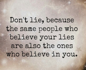 Quotes About Lies And Liars