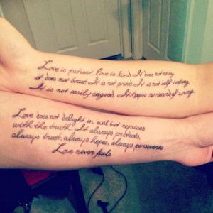 Couple Tattoos Love