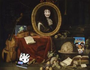 With Portrait of Louis XIV bu Jean GarnierKing Louis XIV of France ...