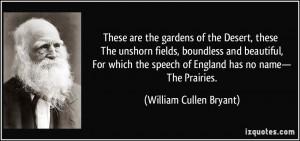 More William Cullen Bryant Quotes