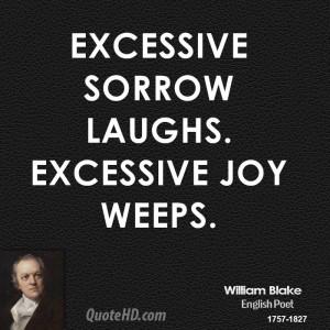 Sorrow Quotes William blake quotes