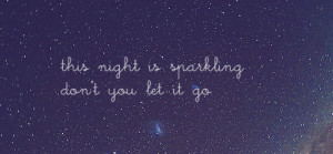 text quotes sky words lyrics taylor swift night stars wonderstruck ...
