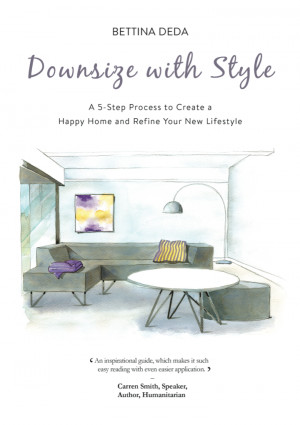 Interior stylist Bettina Deda, author of the new book Downsize with ...