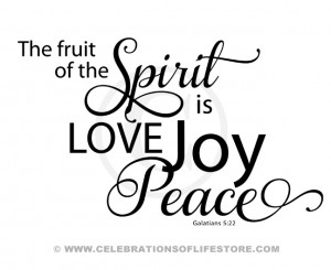 Bible Scriptures Verses & Quotes : Fruit of the Spirit Elegant Design ...