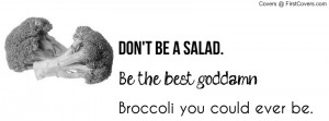 Don't be a salad - Pewdiepie Facebook Profile Cover #1666148