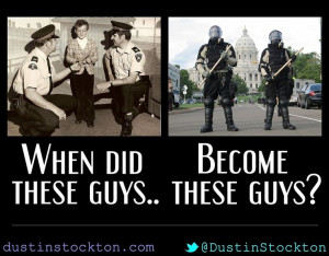 When did the police become so deadly?