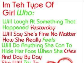 boyfriend girlfriend quotes photo: I'm teh type of Girl who: boyfriend ...