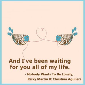 Secretly In Love Quotes For Him Christina aguilera on love
