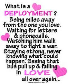 Deployment quote.. More