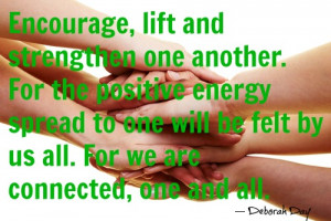 This Week's Feed: on Loving and Supporting each other...