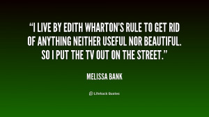 Melissa Bank Quotes