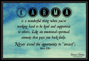 quote on karma motivational wallpaper on karma quote by wayne dyer how ...