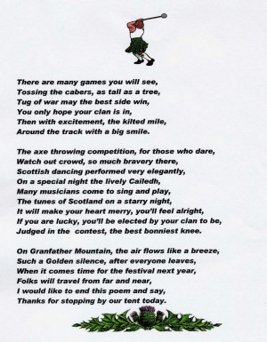 Family Tree Poems Grandfather mountain highland